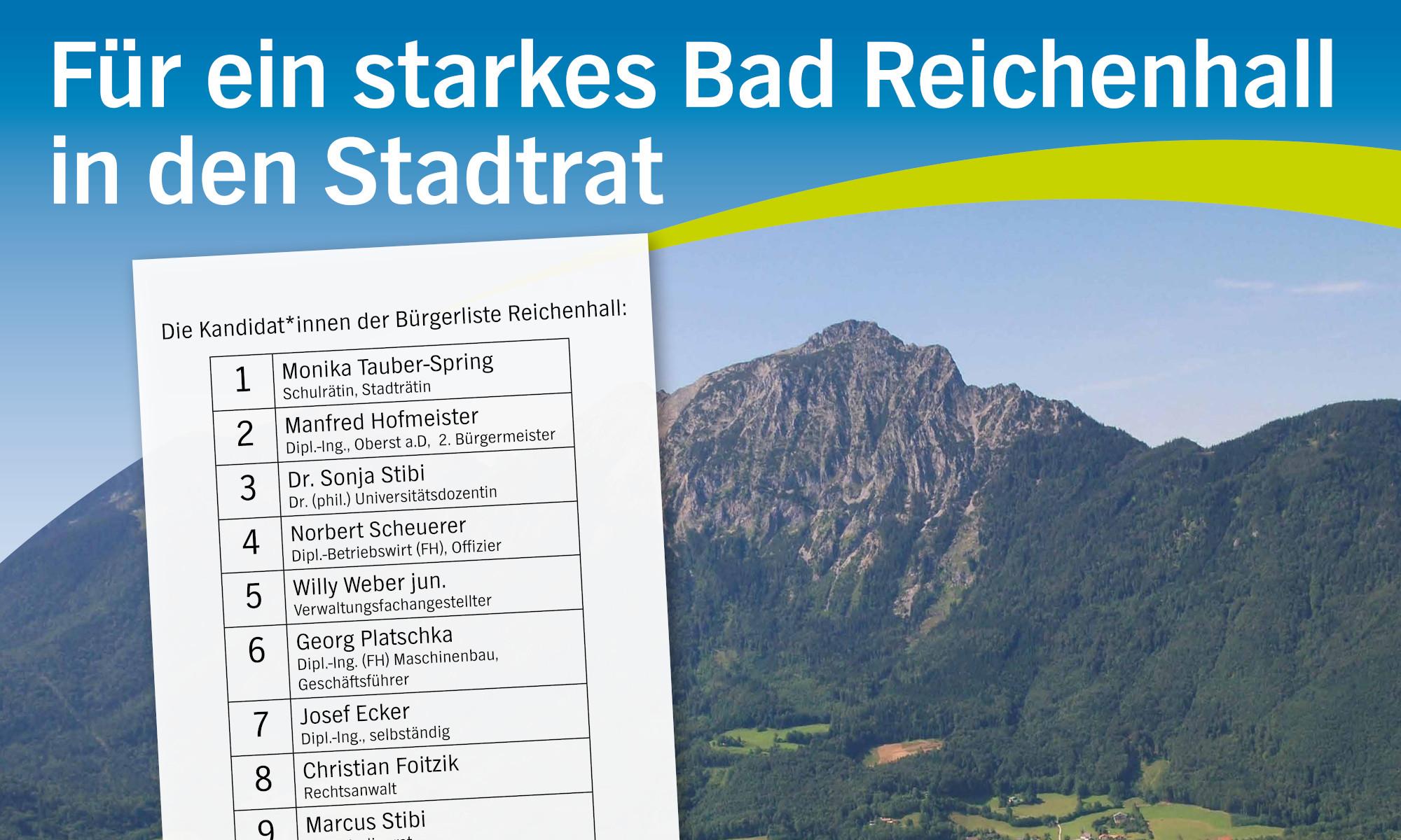 Bürgerliste Reichenhall